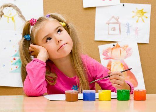 ИЗО студия в детском саду